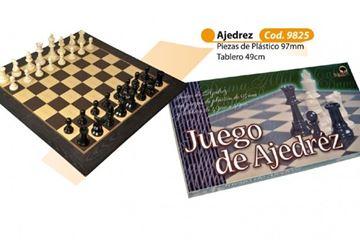 Imagen de Ajedrez 49x49 Fichas Plasticas  97mm