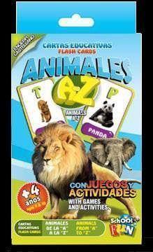 Imagen de CARTAS EDUCATIVAS ANIMALES DE LA A A LA Z