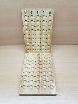 Imagen de Posabolillas de madera x 90