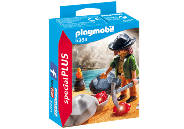 Imagen de Playmobil 5384 - Buscador De Gemas
