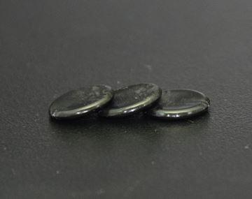 Imagen de Fichas redondas 18 mm x 100 Unidades NEGRO