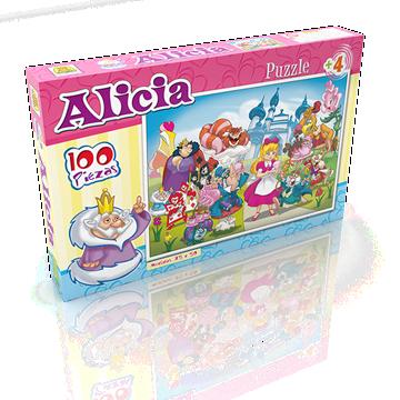 Imagen de Puzzle x 100 Piezas - Alicia En El Pais De Las Maravillas