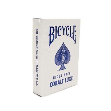 Imagen de Bicycle Metalluxe Blue - Cobalt Rider Back