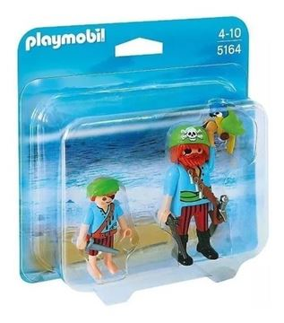 Imagen de PLAYMOBIL 5164 - DUO PACK - PIRATA e HIJO