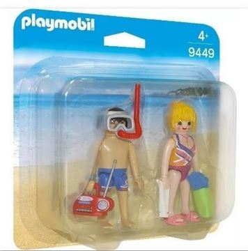Imagen de PLAYMOBIL 9449 - DUO PACK - PAREJA EN LA PLAYA