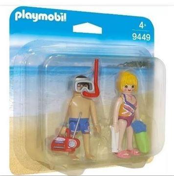 Imagen de Playmobil 9449 - Duo Pack - Pareja En La Playa