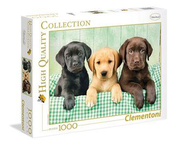 Imagen de Puzzle 1000 Piezas - HQC - Cachorros Labrador
