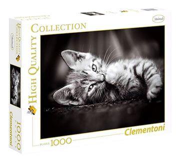 Imagen de Puzzle 1000 Piezas - HQC - Kitty